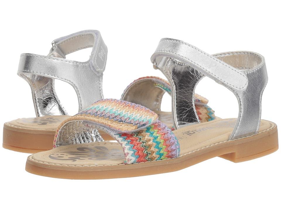 Primigi Kids - PFD 14396 (Little Kid/Big Kid) (Silver) Girls Shoes