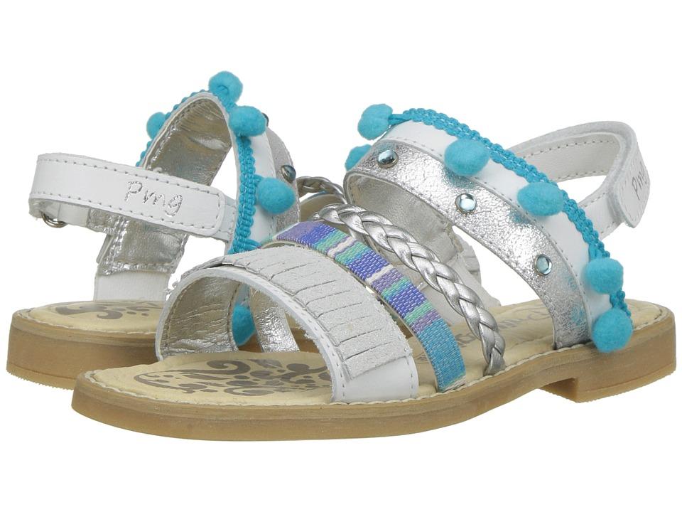 Primigi Kids - PFD 14398 (Little Kid) (White) Girls Shoes