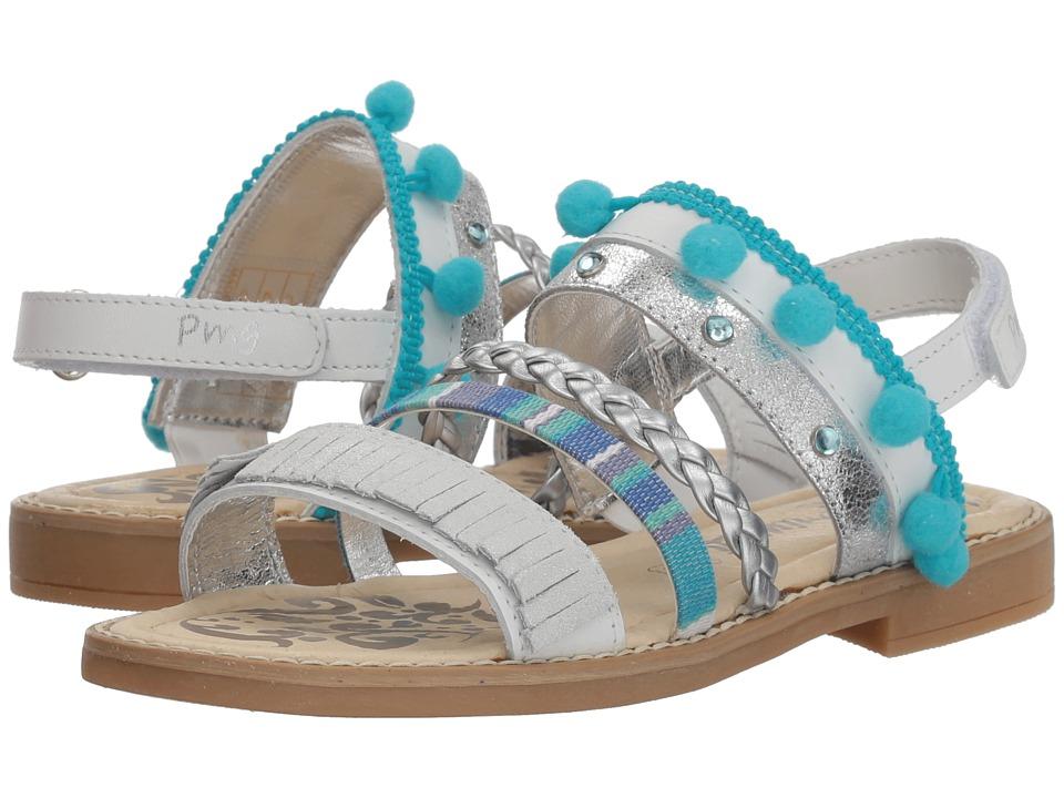 Primigi Kids - PFD 14398 (Little Kid/Big Kid) (White) Girls Shoes