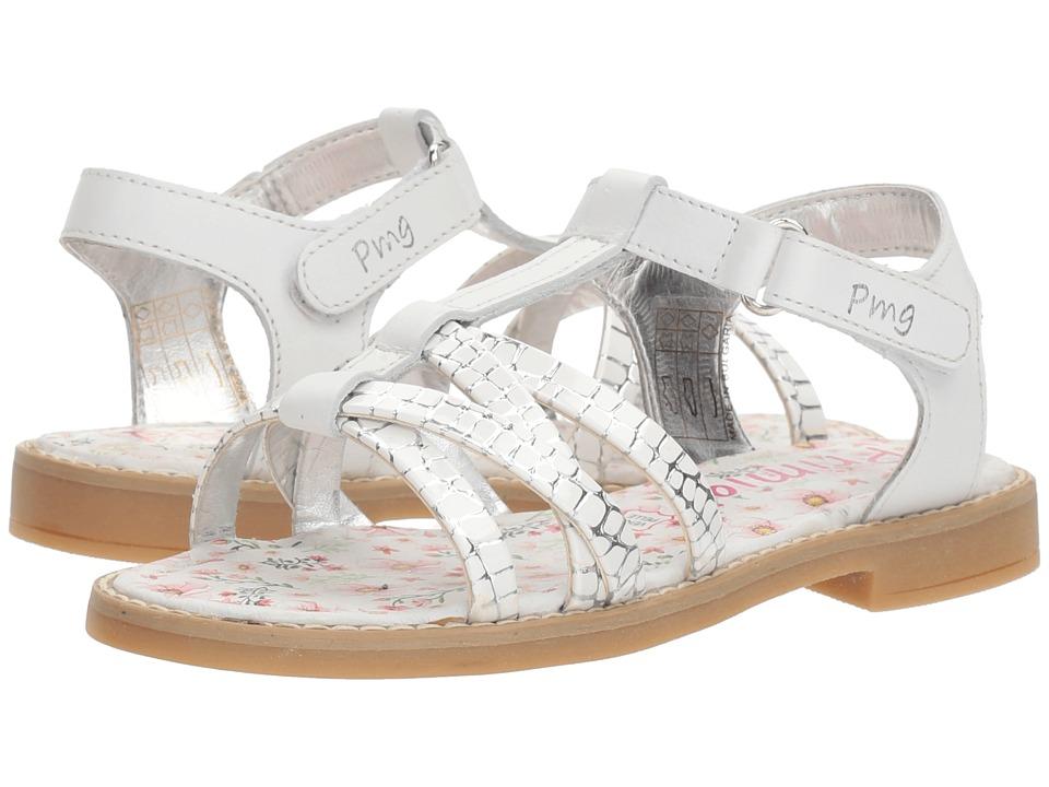 Primigi Kids - PFD 14400 (Little Kid/Big Kid) (White) Girls Shoes
