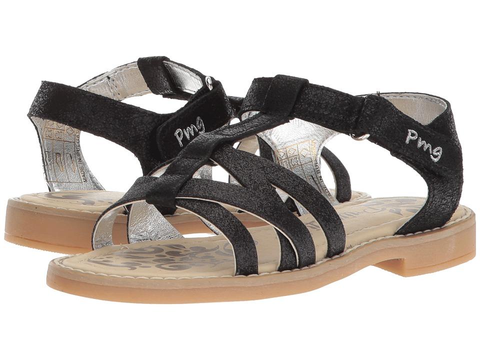 Primigi Kids - PFD 14400 (Little Kid) (Black) Girls Shoes
