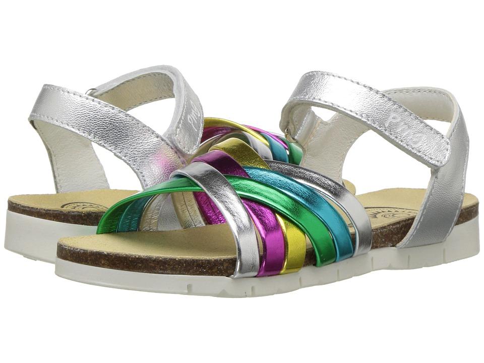 Primigi Kids - PFN 14296 (Little Kid) (Silver) Girls Shoes