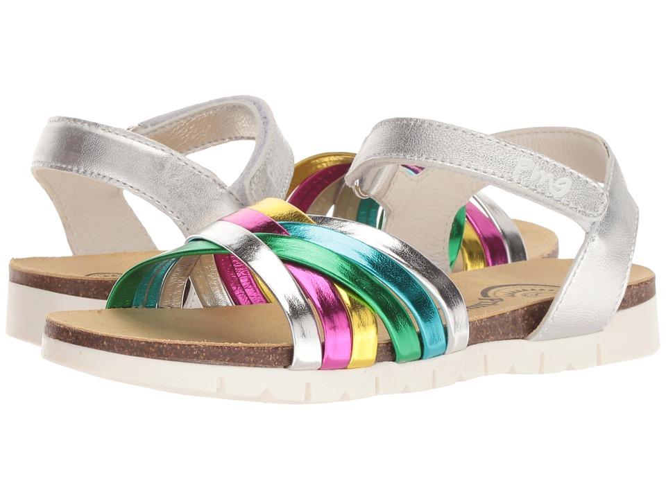 Primigi Kids - PFN 14296 (Little Kid/Big Kid) (Silver) Girls Shoes