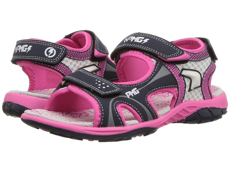 Primigi Kids - PRU 14576 (Little Kid/Big Kid) (Navy/Pink) Girls Shoes