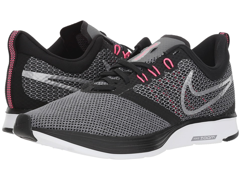 Nike Zoom Strike (Black/Metallic Silver/Cool Grey) Women's Shoes