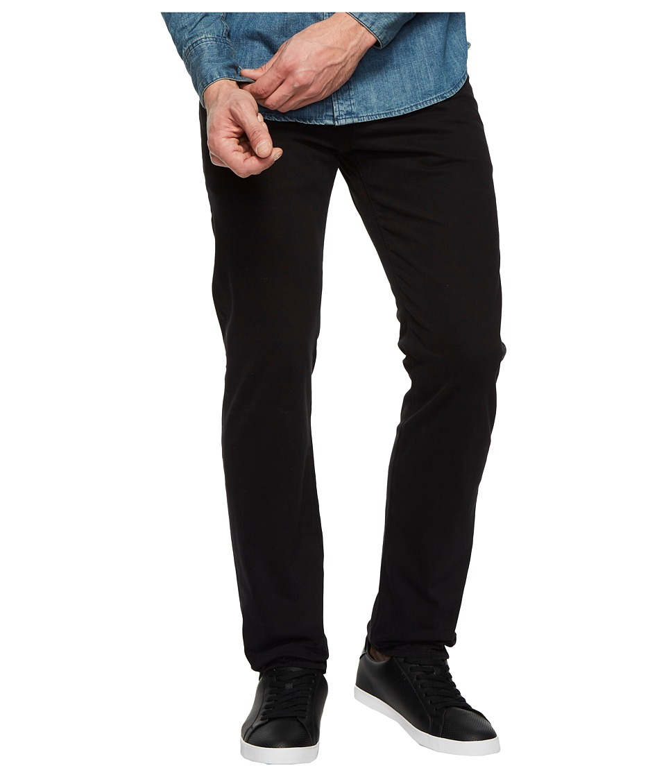 AG Adriano Goldschmied - Tellis Modern Slim Leg Denim in Super Black (Super Black) Mens Jeans