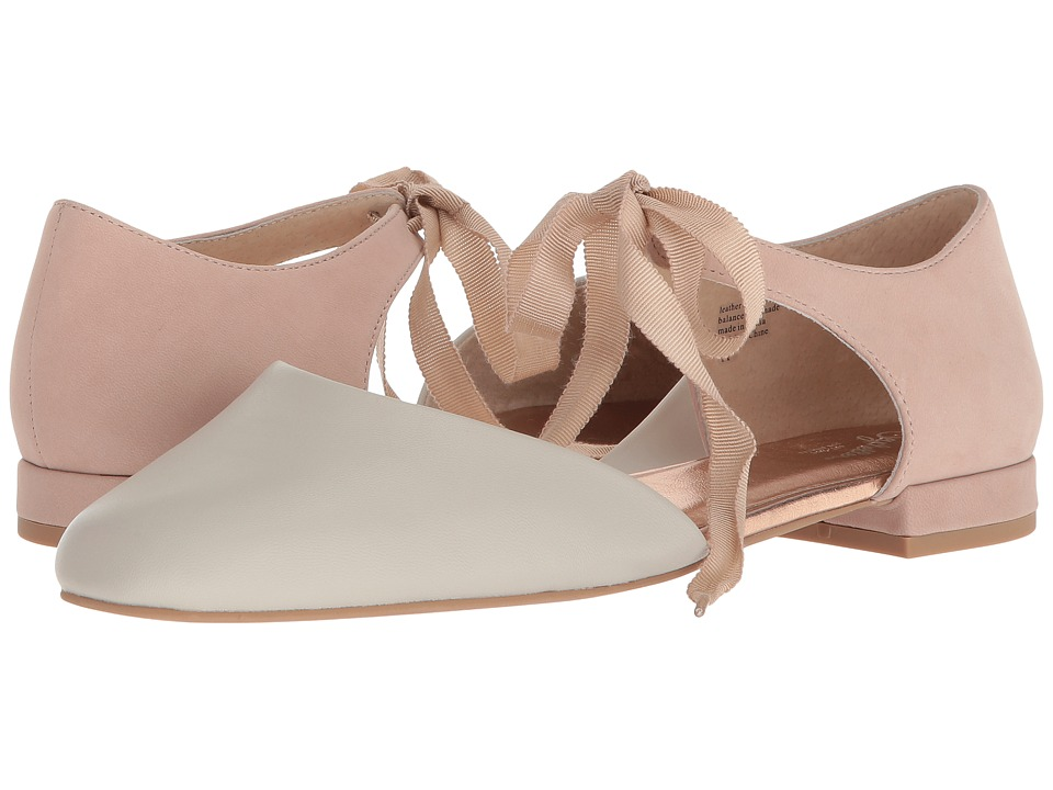 Seychelles Prospect (Off-White/Pink Leather) Women