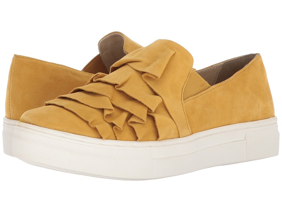 Seychelles - Quake (Mustard Suede) Womens Slip on  Shoes