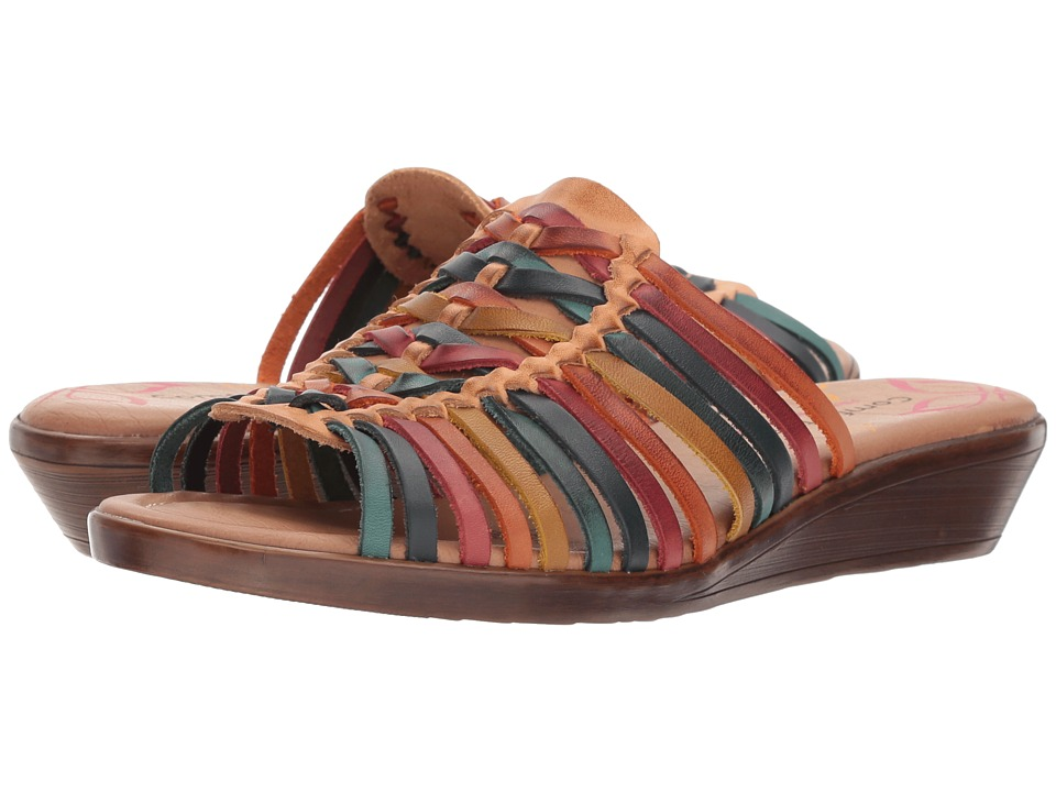 Comfortiva Felida (Natural Multi) Wedges