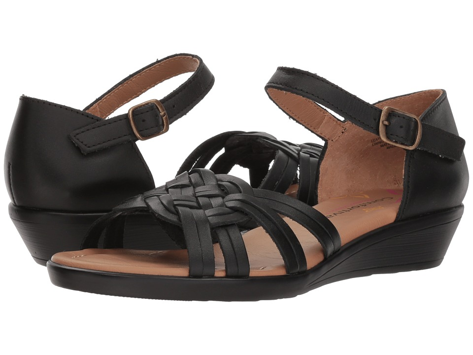 Comfortiva Fortune (Black) Wedges