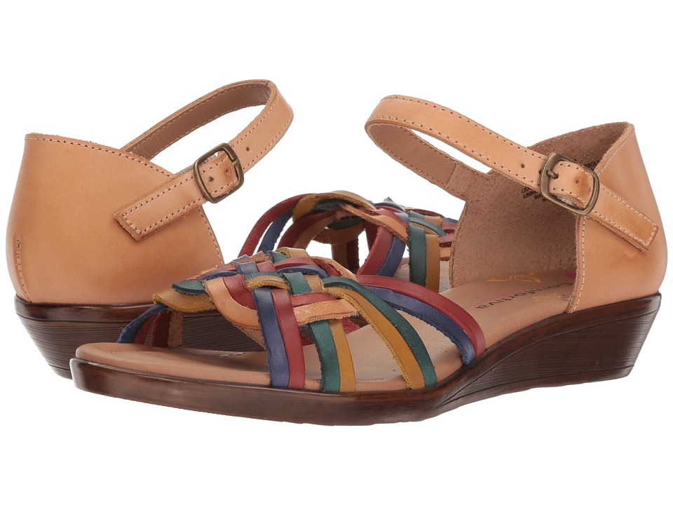 Comfortiva Fortune (Natural Multi) Wedges