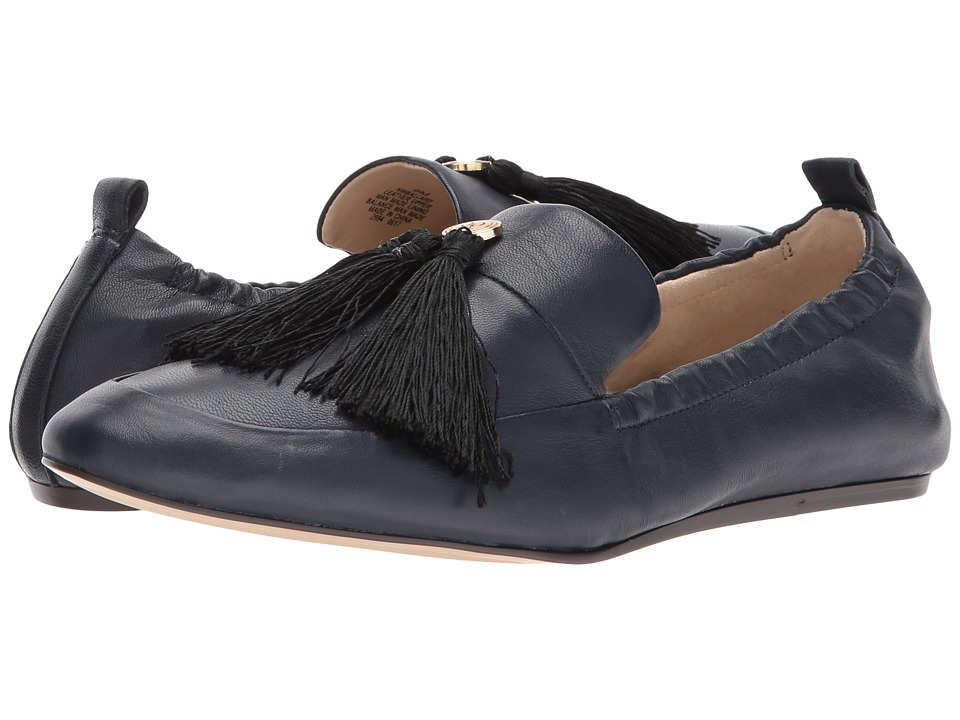 Nine West Ballard (Navy Leather) Women