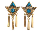 House of Harlow 1960 Durango Triangle Statement Earrings