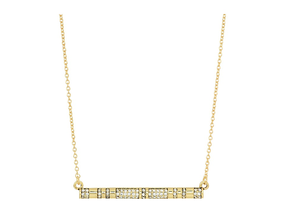 House of Harlow 1960 - Atum Bar Necklace (Gold) Necklace