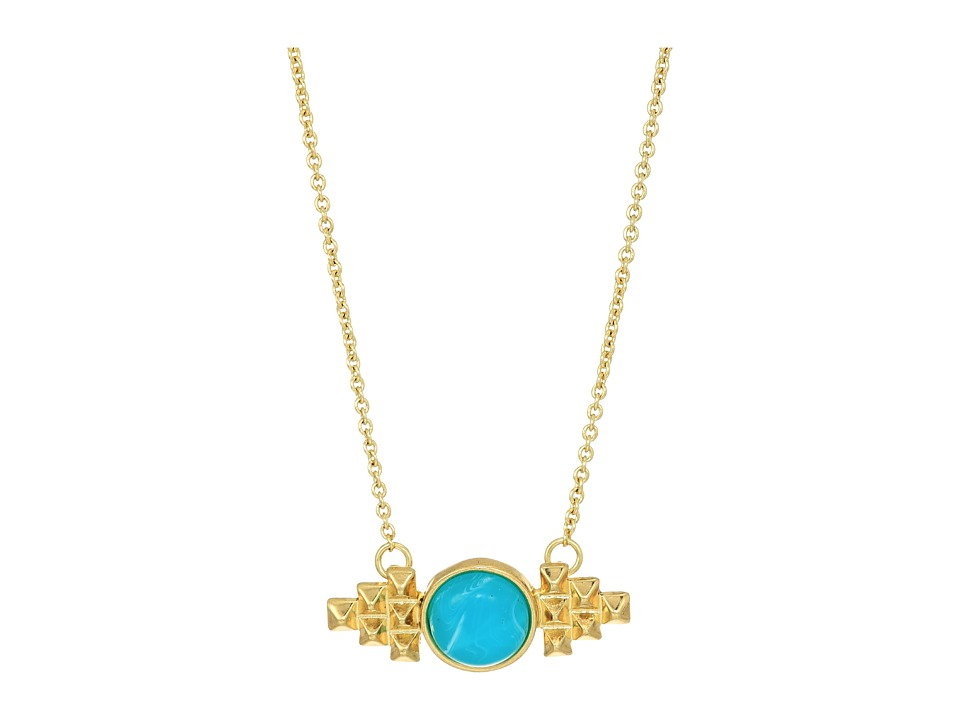 House of Harlow 1960 - Nuri Pendant Necklace (Gold) Necklace