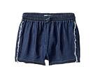 DL1961 Kids Dark Wash Jog Shorts (Big Kids)