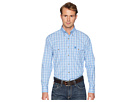 Wrangler George Strait Long Sleeve Two Flap Pocket Plaid