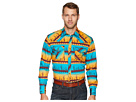 Wrangler 20X Long Sleeve Two-Pocket Competition Ac Snap Print