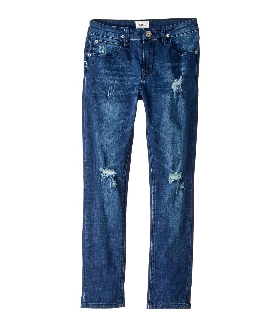 Hudson Kids Jude OG Skinny Five-Pocket Jeans in Storm (Big Kids) (Storm) Boy