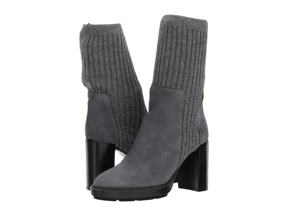 Aquatalia Imogen (Grey Suede) Women's Dress Pull-on Boots