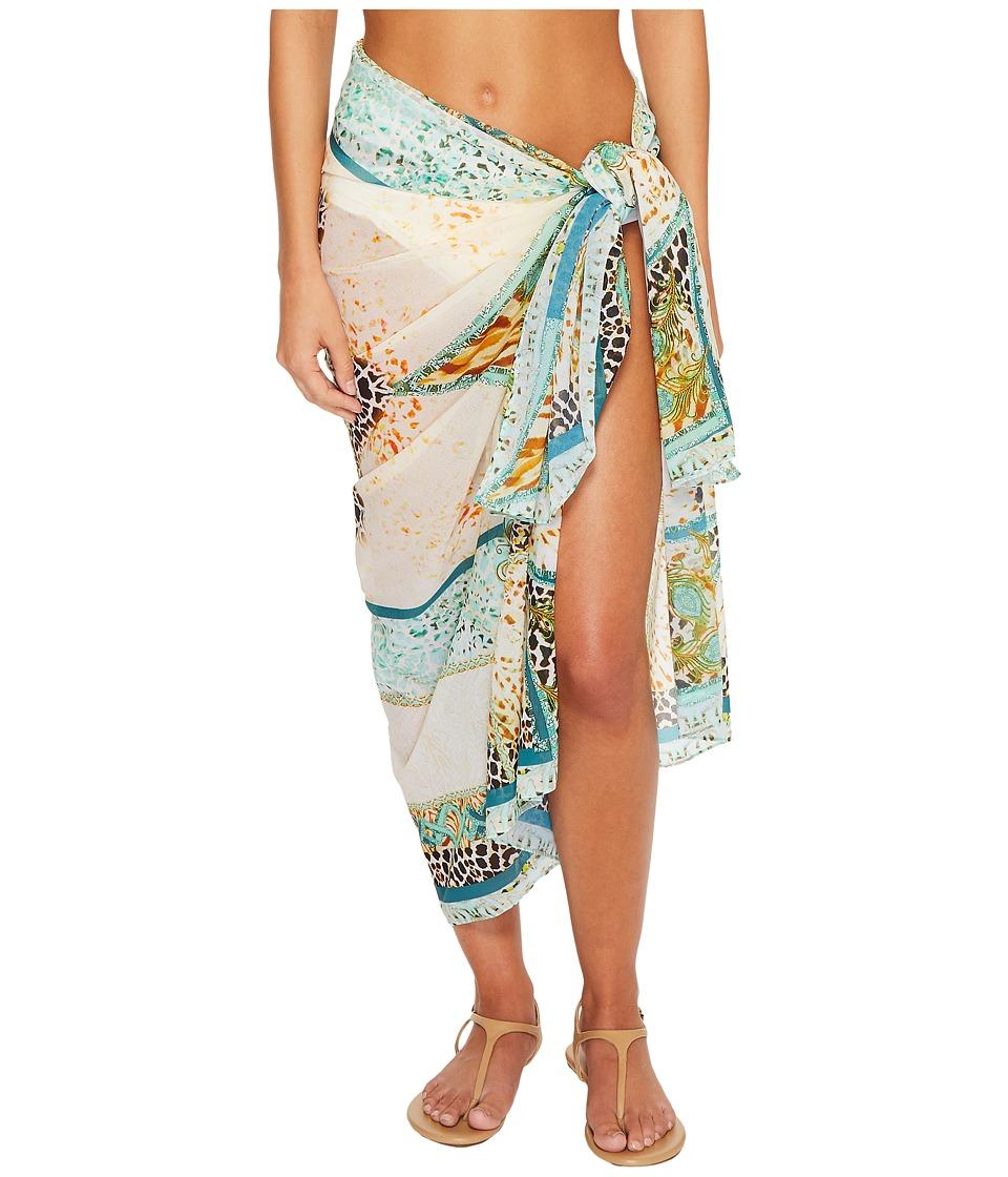 Luli Fama - Guantanamera Pareo (Multi) Womens Swimwear