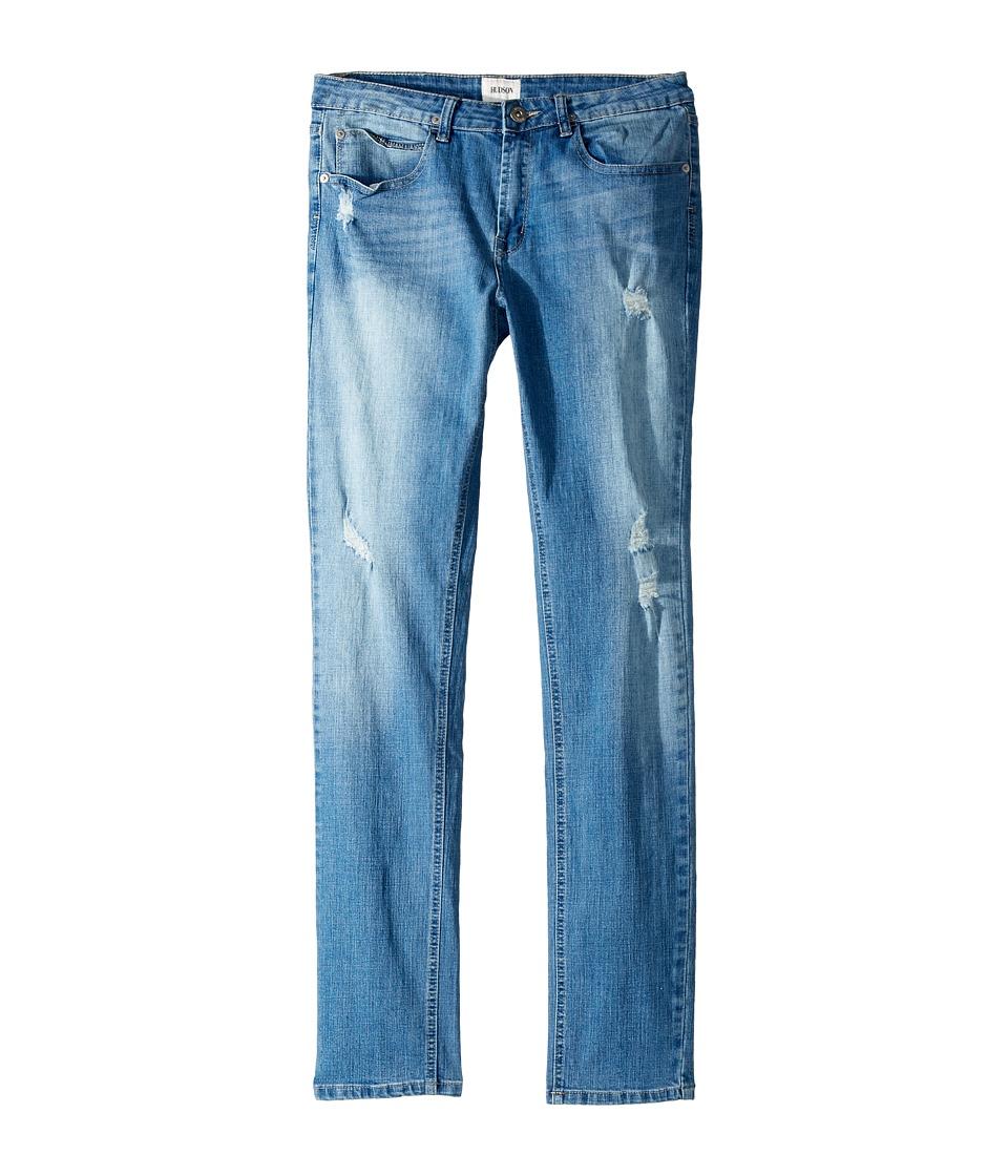 Hudson Kids Jude OG Skinny Five-Pocket Jeans in Stone Wash (Big Kids) (Stone Wash) Boy