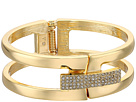 Vince Camuto Link Bracelet with Pave Foldover Clasp