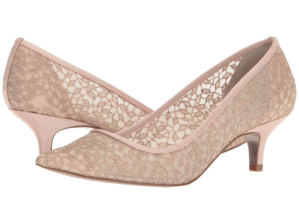 Adrianna Papell Lois Lace (Blush Valencia Lace) 1-2 inch heel Shoes