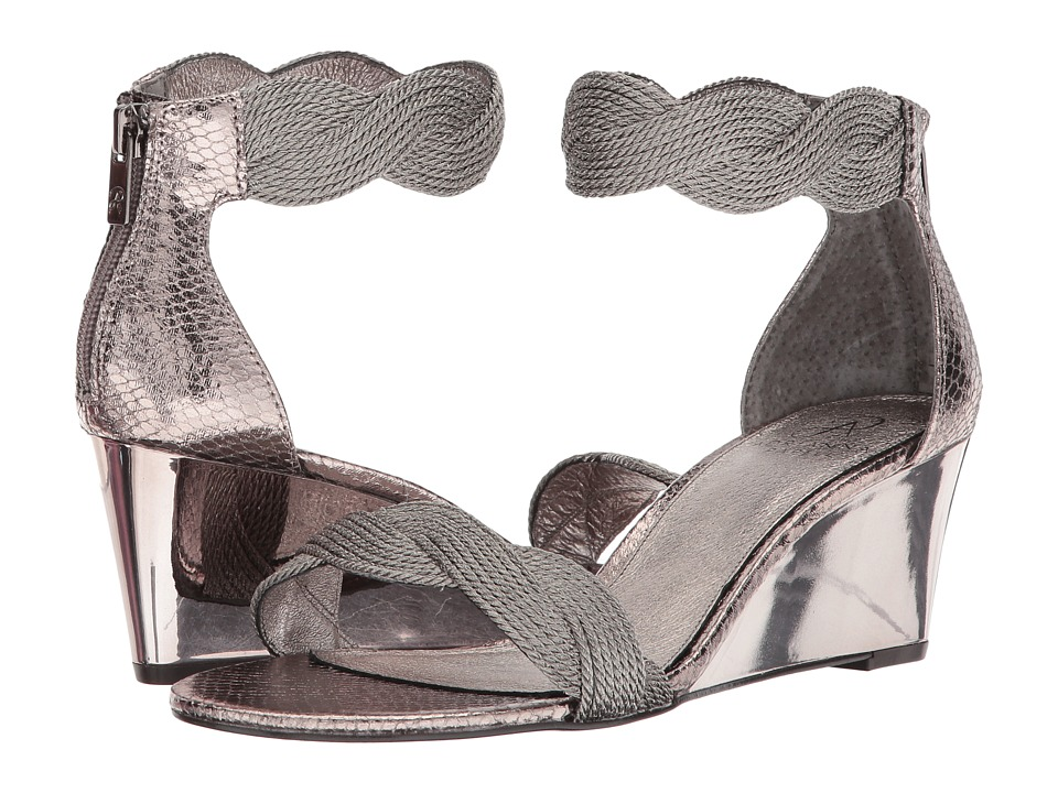 Adrianna Papell - Adore (Gunmetal Metallic Rope) Womens Shoes