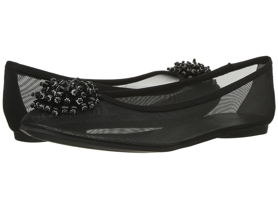 Adrianna Papell - Stevie (Black) Womens Dress Flat Shoes
