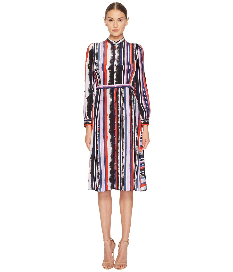 Prabal Gurung - Multi Long Sleeve Dress
