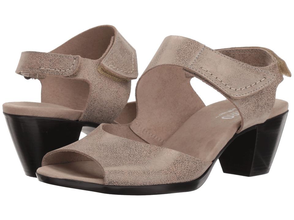 Munro Fabiana (Silver Metallic Nubuck) Sandals