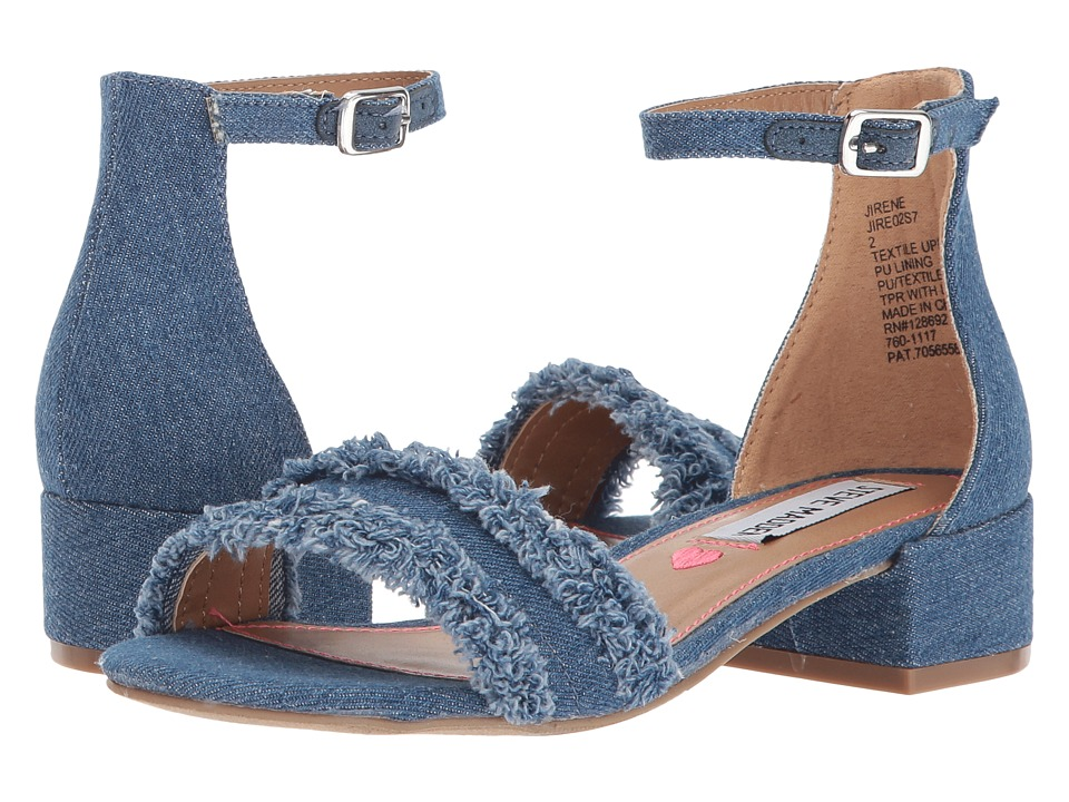Steve Madden Kids JIrene (Little Kid/Big Kid) (Denim) Girl's Shoes