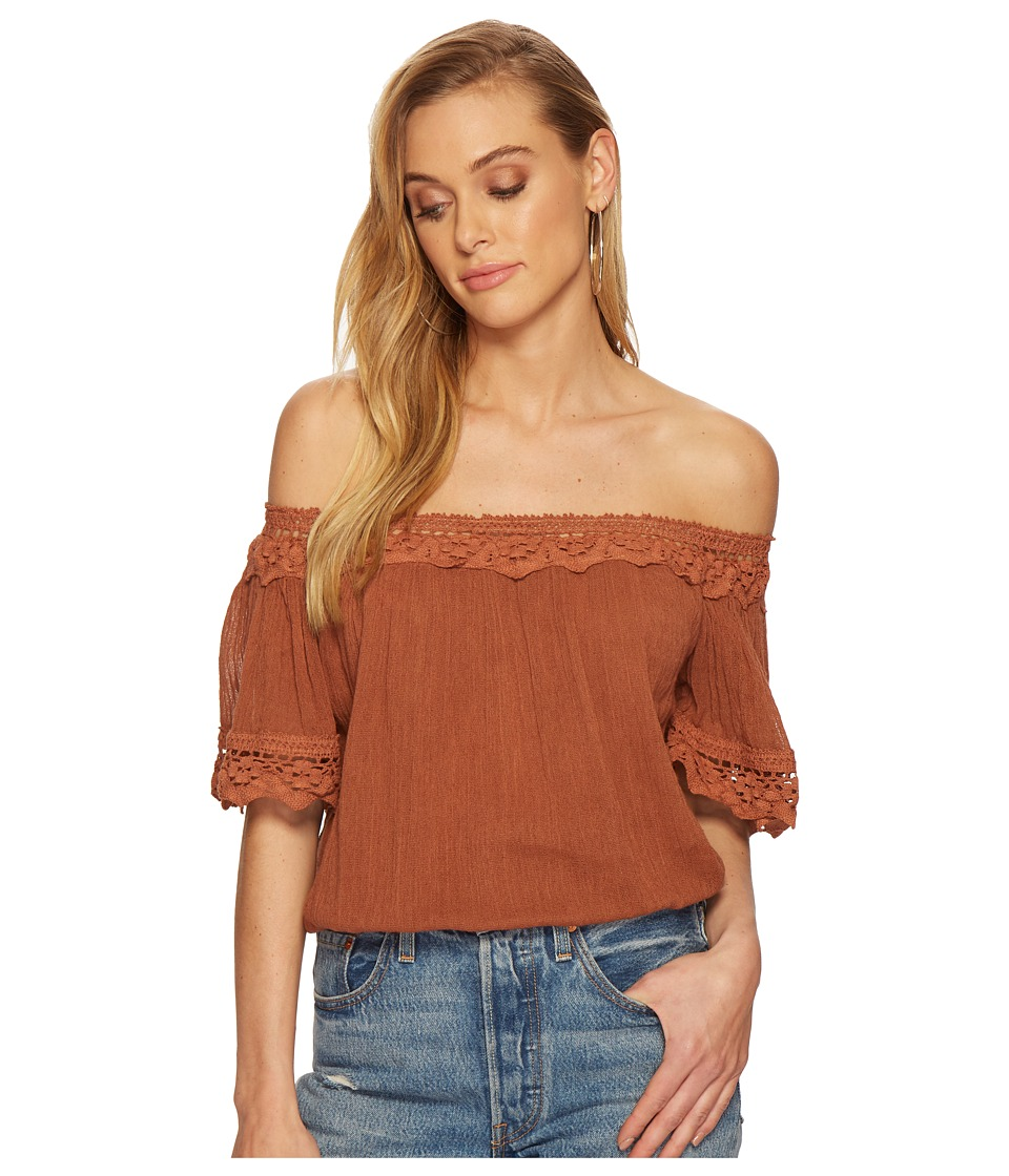 Jens Pirate Booty - Ajanta Top (Rust) Womens Clothing