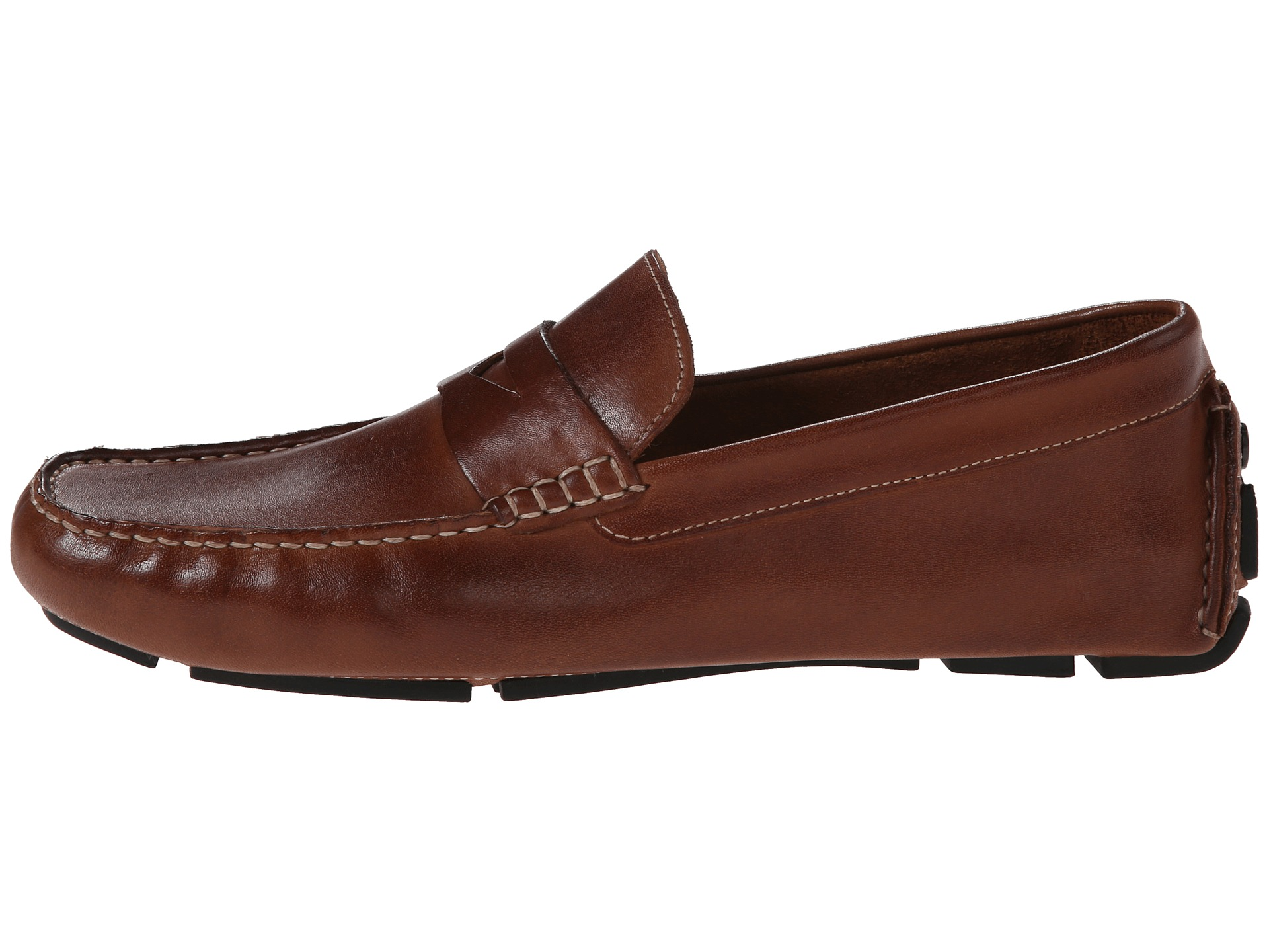 5a000907b9c Cole Haan Men s Howland PennySaddle Tan11 M US - Bossman Shoes · Cole Haan  Howland Penny at Zappos.com