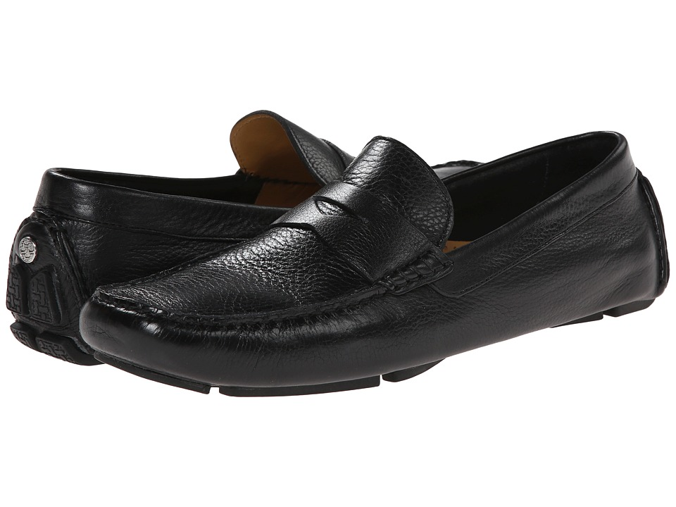 Cole Haan Howland Penny (Black Tumbled) Men
