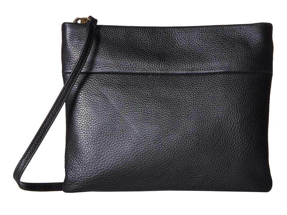 The Sak Tomboy Convertible Clutch by The Sak Collective (Black) Clutch Handbags