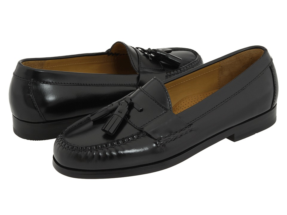 Cole Haan - Pinch Tassel (Black) Mens Slip-on Dress Shoes