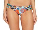Luli Fama Viva Cuba Reversible Zigzag Open Side Moderate Bikini Bottom