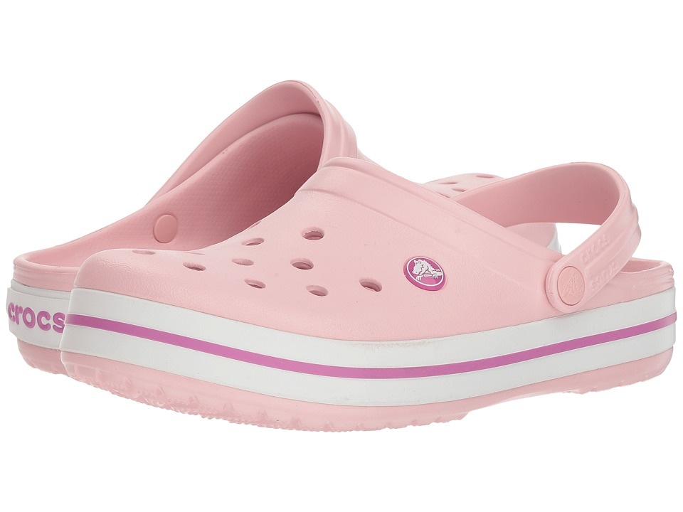 Crocs Crocband (Pearl Pink/Wild Orchid) Clog Shoes