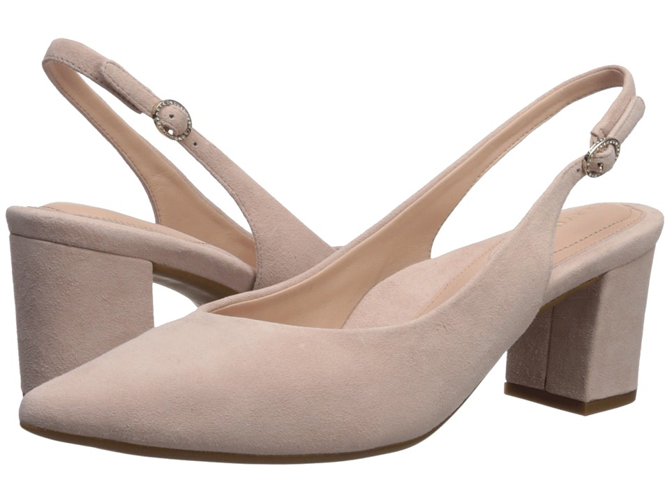 Taryn Rose Marcy (Blush Suede) High Heels