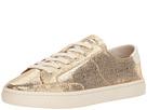 Soludos Metallic Lace-Up Sneaker