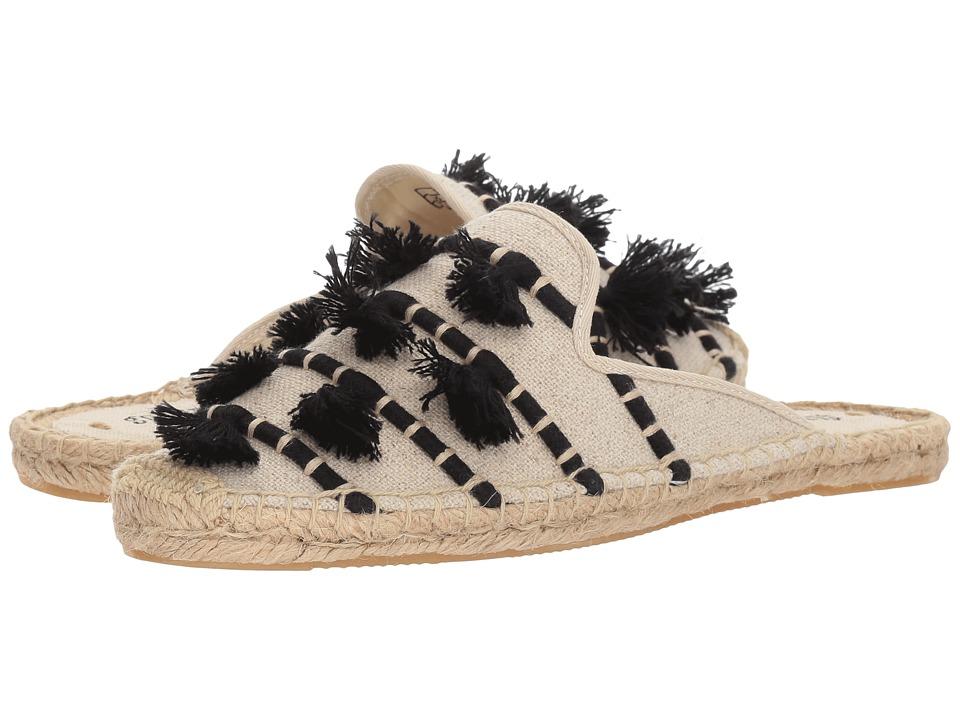 Soludos Tassel Mule (Sand Black) Women