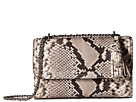 Tory Burch Fleming Embossed Small Convertible Shoulder