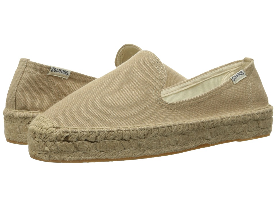 Soludos Platform Smoking Slipper (Safari) Slip-On Shoes