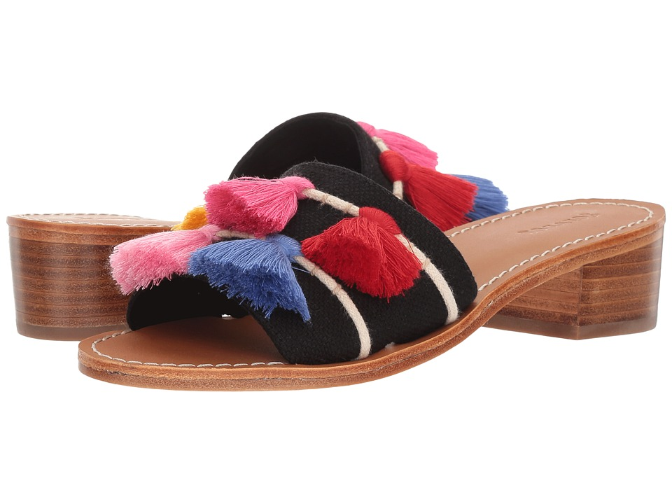 Soludos - Tassel City Sandal (Black Multi) Women's Sandals
