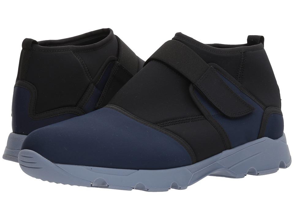 MARNI - High Top Neoprene Sneaker (Navy) Mens Shoes