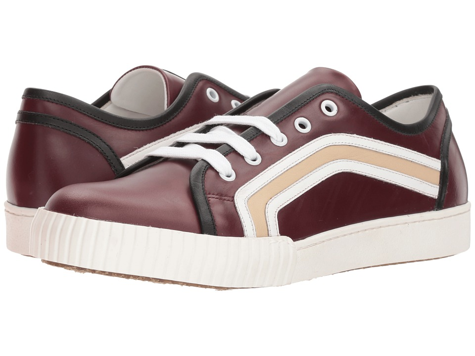 MARNI - Side Stripe Sneaker (Wine) Mens Shoes