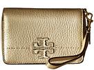 Tory Burch McGraw Metallic Bifold Wallet