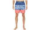 Vineyard Vines Tuna in Coral Pieced Chappy Swim Trunks